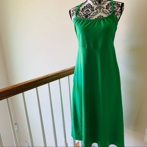The North Face Kelly Green Lace Up Back Dress Med